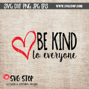 be kind heart clipart