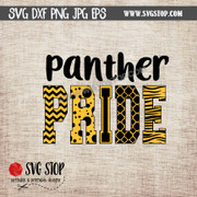 panther pride clipart