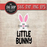 Little Bunny Easter Svg Clipart Cut File