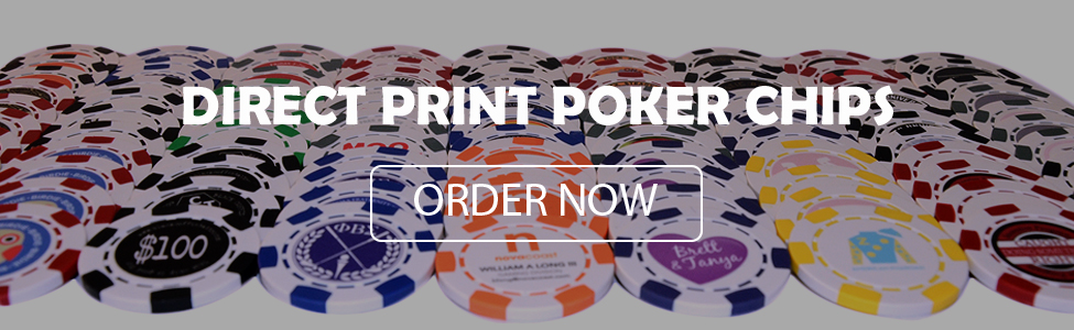 Direct Print Poker Chips