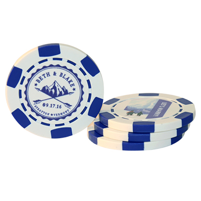 Wedding Poker Chips