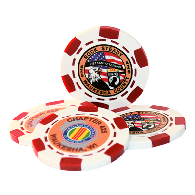 Challenge Coin Poker Chips