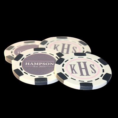 Wedding Poker Chips