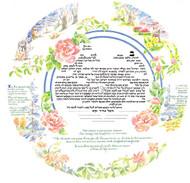 The Great Circle Ketubah
