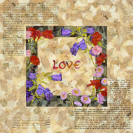 Bells and Carnations Ketubah - Classic Size