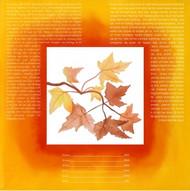 Autumn Of Joy Ketubah - Classic Size