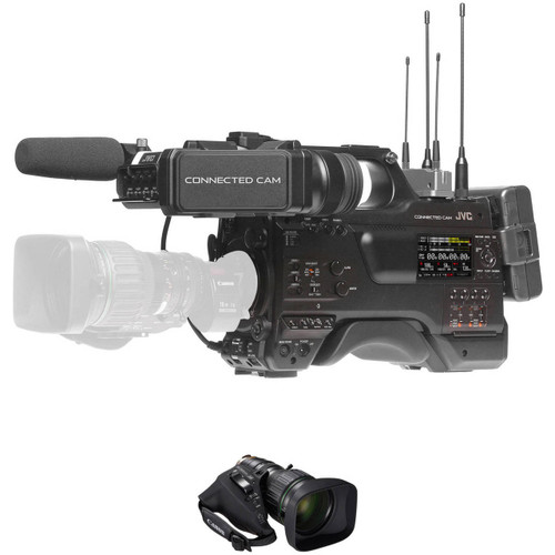 """JVC GY-HC900 2/3"""" HD Connected Camcorder with 20x Zoom Lens"""
