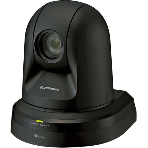 Panasonic 22x Zoom PTZ Camera with HDMI Output and NDI (Black)