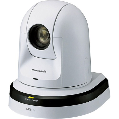 Panasonic 22x Zoom PTZ Camera with HDMI Output and NDI (White)