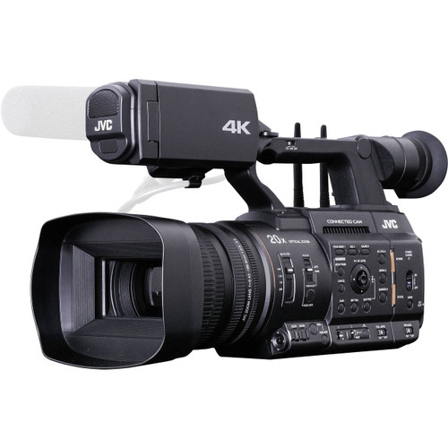 """JVC GY-HC550 Hand-Held Connected Cam 1"""" 4K Broadcast Camcorder"""