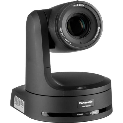 Panasonic AW-HN130 HD Integrated PTZ Camera with NDI|HX (Black)