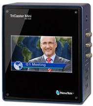 """NewTek TriCaster Mini HD-4 SDI with Built-In 7"""" Display"""