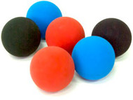 Practice Racquetballs  13 Pack - Multi Color 90% Penn