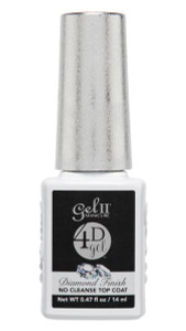 4D Gel II Diamond Finish No Cleanse Top Coat