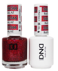 DND SOAK OFF GEL POLISH DUO | Red Rock, AZ 566 |