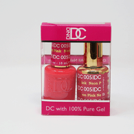 DND DC DUO SOAK OFF GEL AND LACQUER   005 Neon Pink  
