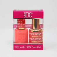 DND DC DUO SOAK OFF GEL AND LACQUER   009 Carnation Pink  