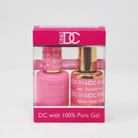 DND DC DUO SOAK OFF GEL AND LACQUER | 016 Darken Rose |