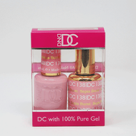 DND DC DUO SOAK OFF GEL AND LACQUER | 138 Sepia Burst |