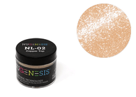 Nugenesis Easy Nail Dip Sparkle Collection | NL 02 Copper Top |