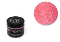 Nugenesis Easy Nail Dip Sparkle Collection | NL 12 Pink Fiesta |