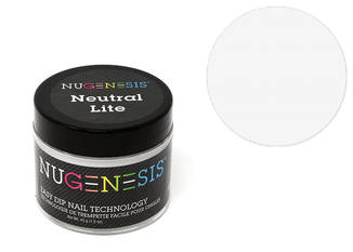Nugenesis Easy Nail Dip French Collection | Neutral Lite 2oz |