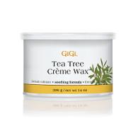 GIGI | TEA TREE CREME WAX | 14 OUNCES