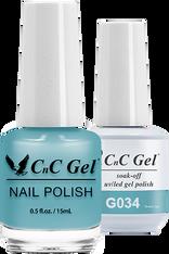 CnC Duo Soak Off | G034 |