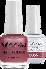 CnC Duo Soak Off | G055 |