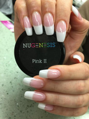 NUGENESIS DIPPING NAILS POWDER | PINK & WHITE COLLECTION