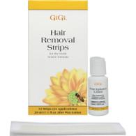 GIGI | HAIR REMOVAL STRIPS FOR BODY | HONEE FORMULA