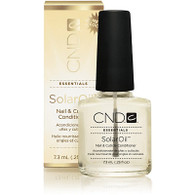 CND SOLAR OIL | NAIL & CUTICLE CONDITIONER  | 0.25 OUNCES