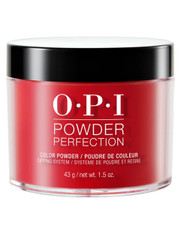 OPI Nails Powder Perfection 1.5 oz. - Big Apple Red