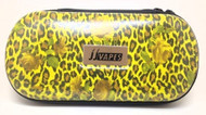 Large Zipper Case - Yellow Cheetah