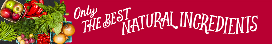 The best natural ingredients
