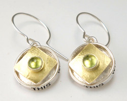 PROTECT ROUND BOX EARRING