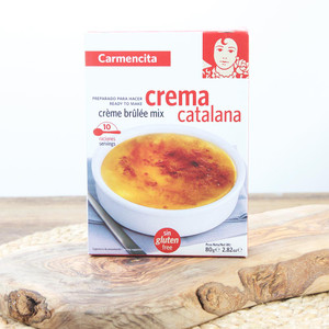 Creme Brulee mix -Crema Catalana- Carmencita