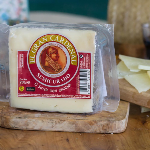El Gran Cardenal Semi-Cured Mixed Cheese 8.8 Ounces