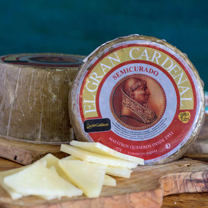 El Gran Cardenal Semi-Cured Mixed Cheese 1.8 Pounds Wheel