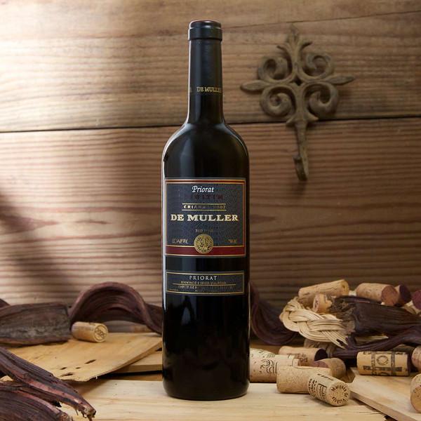 de Muller Crianza red wine 2007