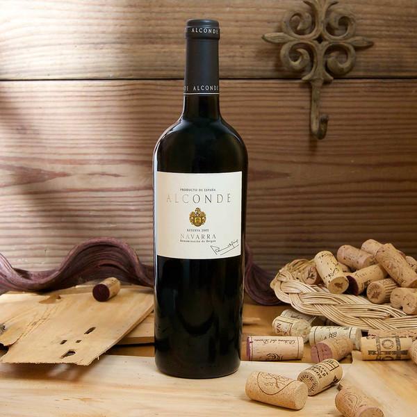 Alconde reserva red wine 2005