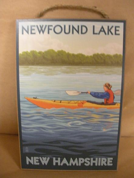 Newfound Lake sign