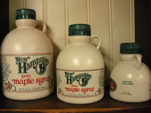 1 Quart 32 fl oz pure NH Maple Syrup