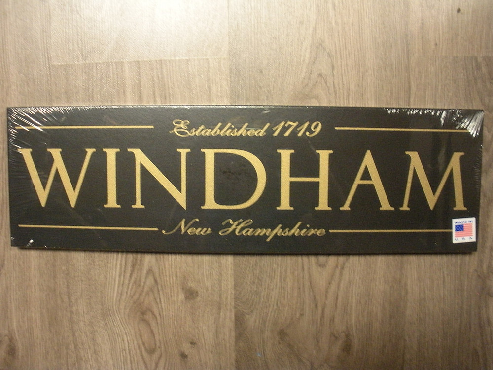 Windham New Hampshire Black Sign Black Moose Country Store