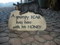 A Grumpy Bear Lives Here