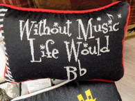Pillow ~ Without Music Life Would B (flat)