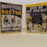 Boston Bruins playing cards