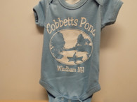 Cobbetts Pond - Onesie. Blue