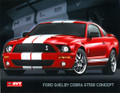 2005 Shelby GT500 Concept Tech Card