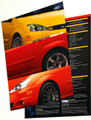2004 SVT Focus Tech Card - Set of 2